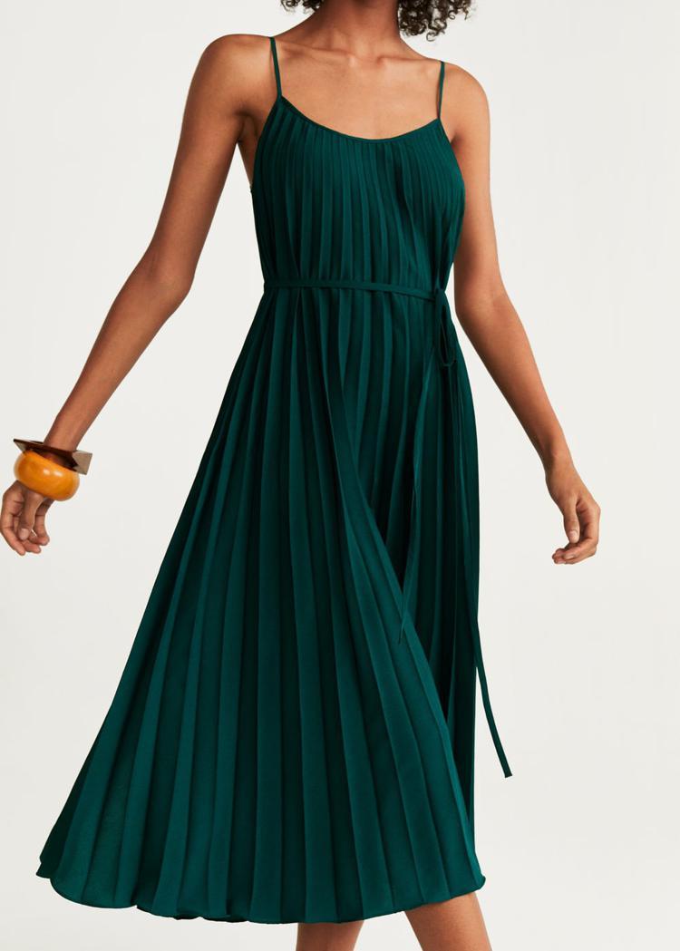 Плиссированные платья