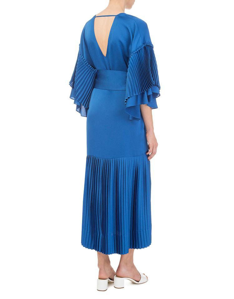 Плиссированные платья 2020