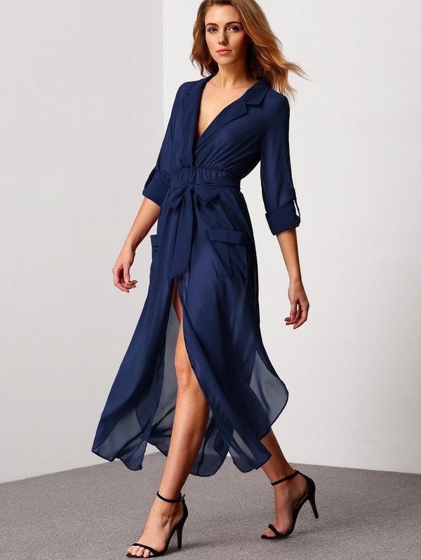 платье-халат 2020