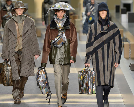 Fendi Milan Menswear Fashion Week FW 18 19