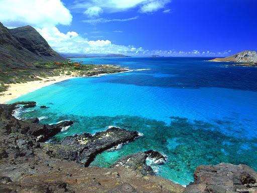 самое красивое море