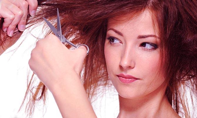 Почему путаются кончики волос
