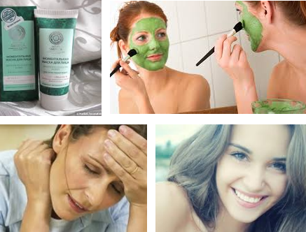 маска против усталости кожи лица