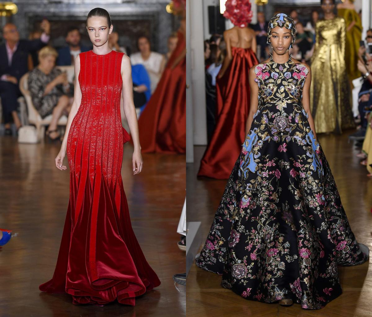 b84bc59de9f Фото Вечерние платья Валентино из коллекции Valentino Fall Couture 2018 на  осень 2019