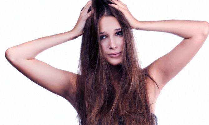 Нарост на волосистой части головы