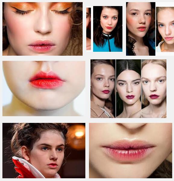 Цвет помады для тонких губ фото