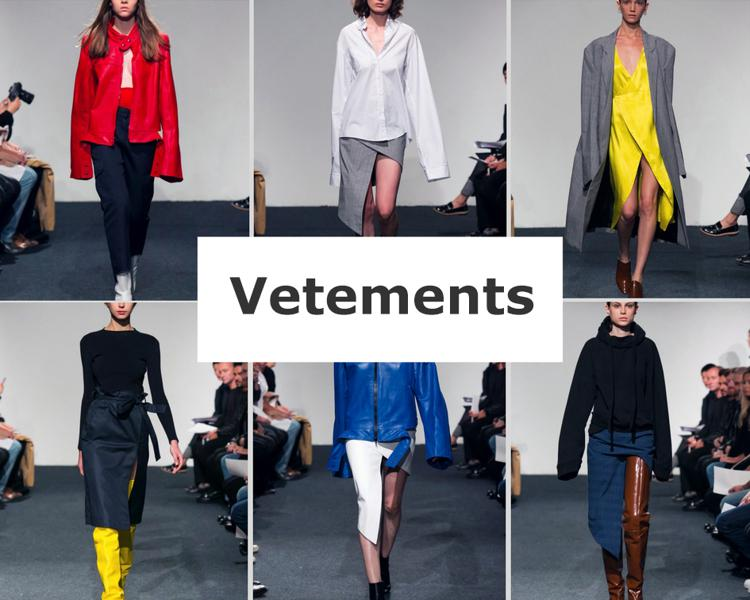 vetements бренд креативный модный бренд