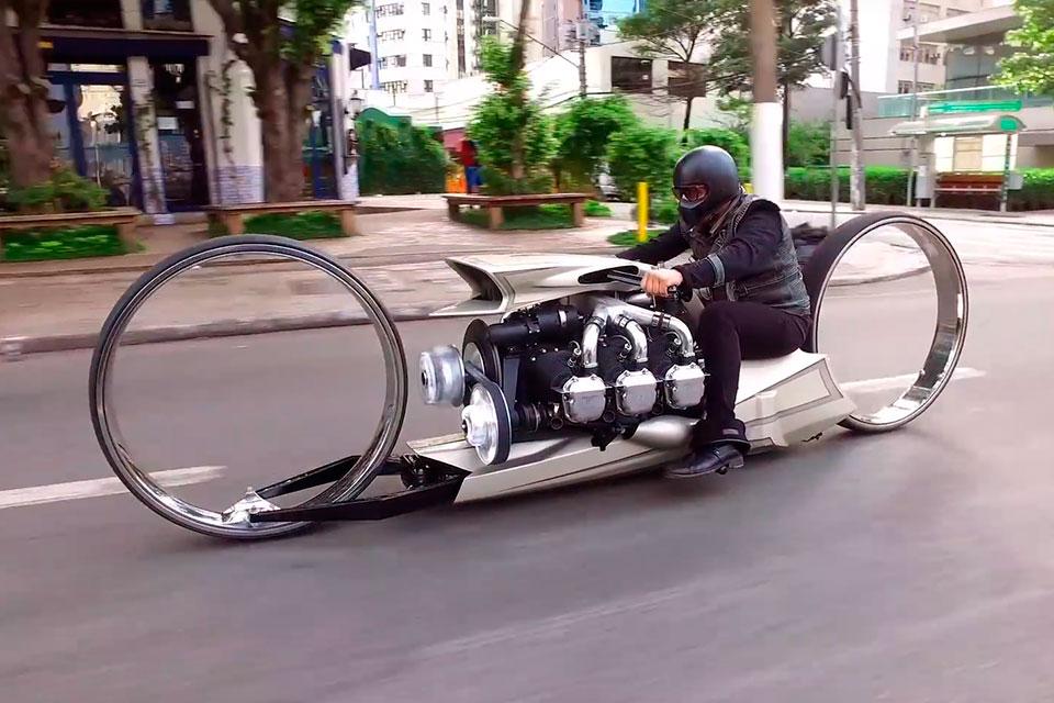 самые нестандартные мотоциклы