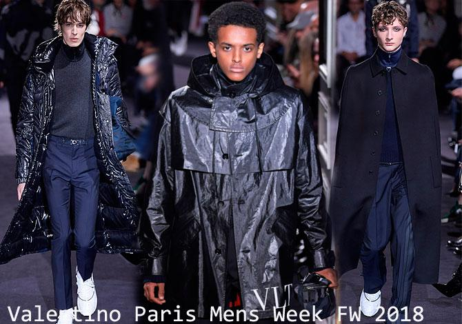 мода Valentino Paris Mens Fashion Week осень зима 2018 2019